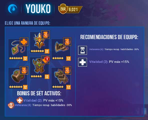 youko chica magica de agua equipo dungeon hunter champions