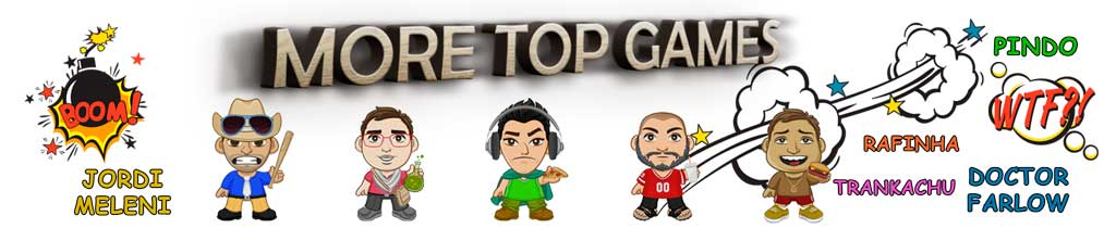 More top games canal youtube juegos pc android ios consola