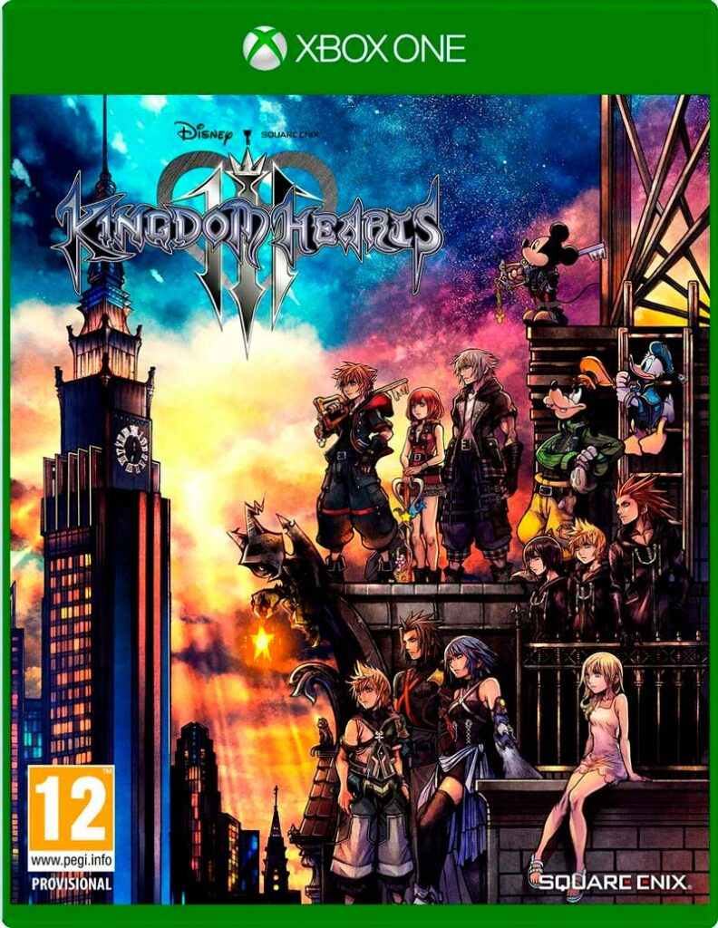kingdom hearts 3 comprar xbox one