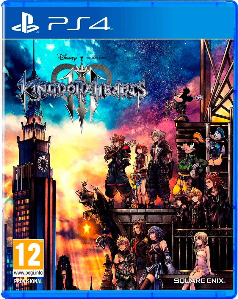 kingdom hearts 3 comprar ps4