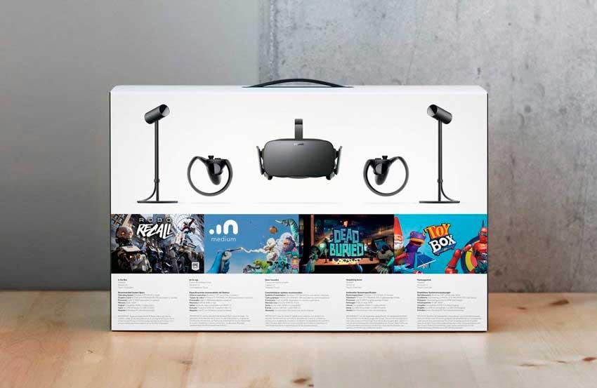 Pack oculus rift