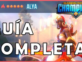 dungeon hunter champions Alya maestra espada fuego