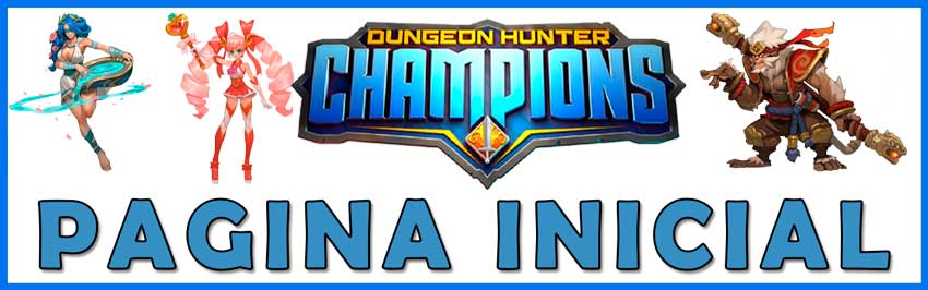 dungeon hunter champions inicio