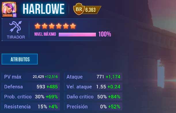 Harlowe Pirata de Oscuridad dhc
