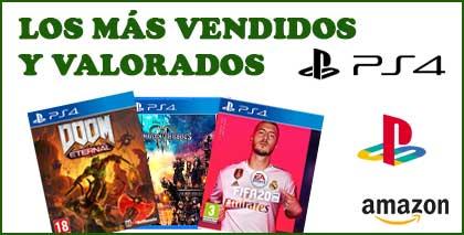 PS4 JUEGOS MAS VENDIDOS