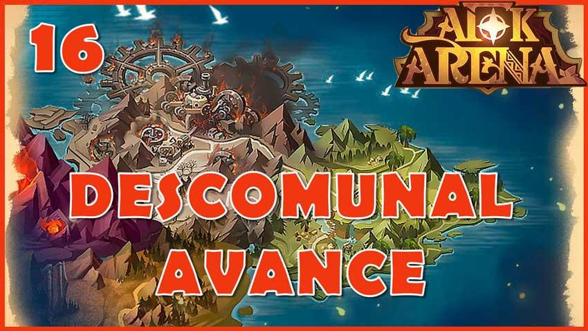 gameplay afk arena campaña capitulo 16