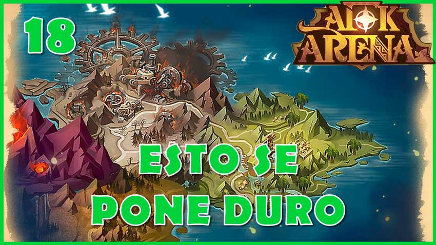 afk arena capitulo 18