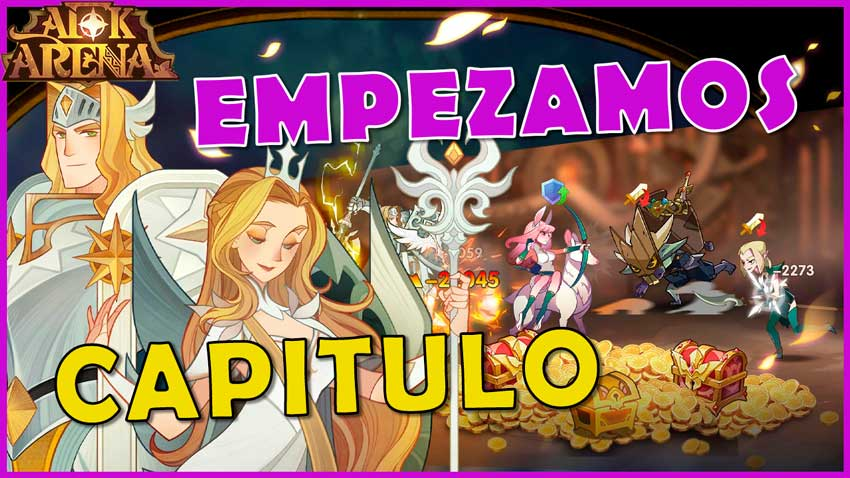 AFK ARENA CAPITULO 25 - 1