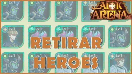 AFK retirar heroes