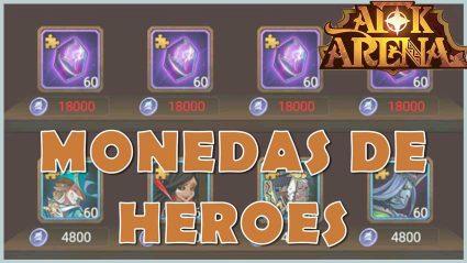 monedas de heroes arena